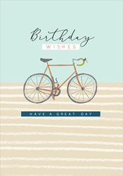 Bicycle - Birthday Card Birthday