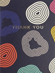 Concentric Shapes - Thank You Card