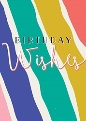 Wishes - Birthday Card