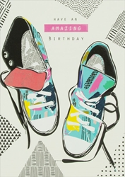 Sneakers - Birthday Card