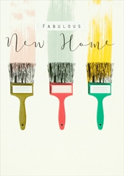 Paintbrush - New Home Card