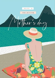 Beach Relax - Mothers Day Card
