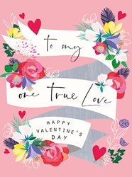 One True Love - Valentines Card