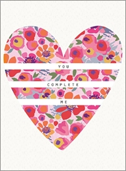 Complete Me - Love Card