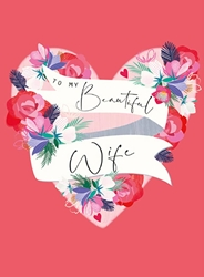 Beauty Wife - Love Card
