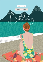 Beach Relax - Birthday Card Birthday