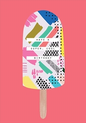 Ice Cream - Birthday Card Birthday