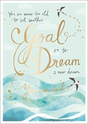 Goal / Dream - Friendship Card