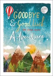 Goodbye / Good Luck - Friendship Card
