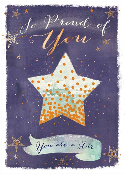 Star - Graduation Card