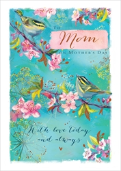 Birds Mom - Mothers Day Card