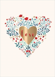 Love Heart - Valentines Day Card