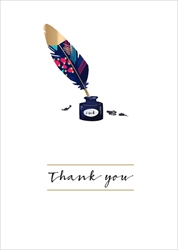 Inkwell - Thank You Card