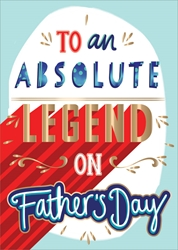 Legend - Fathers Day Card