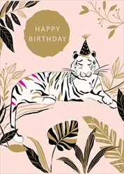 Tiger - Birthday Card