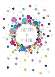 Dots and Stars - Thank You Card Thank You