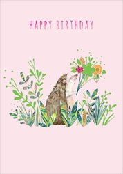 Animal - Birthday Card Birthday