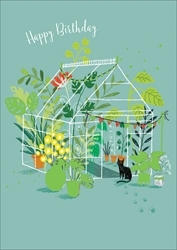 Greenhouse - Birthday Card