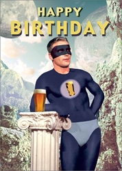 Hero Beer - Birthday Card