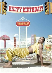 Think Big - Birthday Card