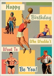Mens Sports - Birthday Card