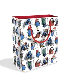 Festive Paddington Medium Gift Bag Christmas