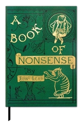 The British Library A Book of Nonsense  - Book Cover Journal journals and notebooks