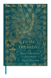 The British Library Book Cover Journals - Jane Austen, Pride and Prejudice journals and notebooks