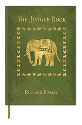 The British Library Rudyard Kipling, The Jungle Book - Book Cover Journals journals and notebooks