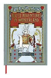 The British Library W.H. Walker, Alices Adventure in Wonderland - Book Cover Journals  journals and notebooks