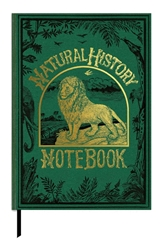 The British Library Book Cover Journals - Natural History Notebook, Lion journals and notebooks