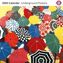 Transport for London Underground Posters - 2020 Square Calendar