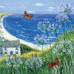 Lucy Grossmith Coast and Country - 2020 Square Calendar