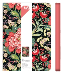 1 A5 BK PEONY/PRUNUS    *M&G journals and notebooks
