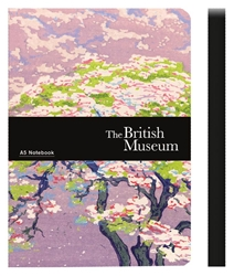 The British Museum Blossom Tree - A5 Luxury Notebook journals and notebooks
