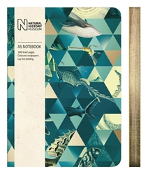 Natural History Museum Sealife - A5 Luxury Notebook journals and notebooks
