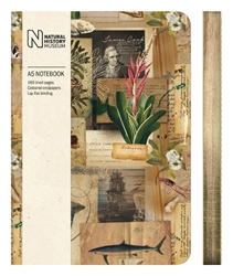Natural History Museum Captain Cooks Scrapbook - A5 Luxury Notebook journals and notebooks