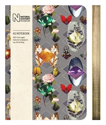 Natural History Museum Beetles and Jewels - A5 Luxury Notebook journals and notebooks