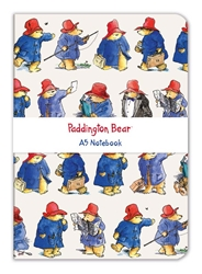 Peggy Fortnum Paddington Bear - A5 Luxury Notebook journals and notebooks