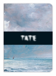 Tate The Sea Near Brighton - A5 Luxury Notebook journals and notebooks