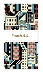 Cressida Bell Cityscape - Slimline Notebook journals and notebooks