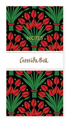 Cressida Bell Tulips - Slimline Notebook journals and notebooks