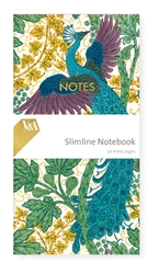 Slimline Notebook - V&A Fig & Peacock journals and notebooks