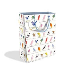 V&A Edward Lear Birds Large Gift Bags
