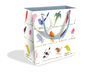 V&A Edward Lear Birds Small Gift Bags gift wrappings