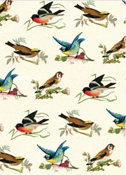 British Birds - Sheet Gift Wrap notecards and stationery