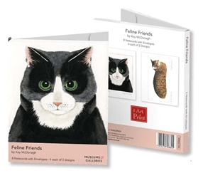 1 NCW FELINE FRIENDS    *M&G notecards and stationery