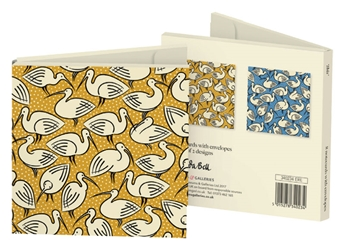 Square Notecard Wallet - Cressida Bell, Ibis notecards and stationery