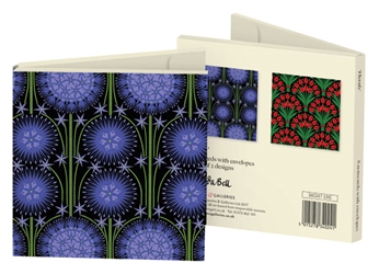 Square Notecard Wallet - Cressida Bell, Florals notecards and stationery