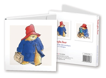 Square Notecard Wallet - Paddington notecards and stationery